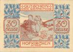 Austria, 30 Heller, FS 387IIIe