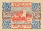 Austria, 90 Heller, FS 387IIIe