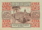 Austria, 50 Heller, FS 387IIIf