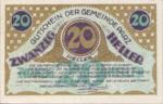 Austria, 20 Heller, FS 721b