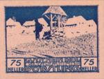 Austria, 75 Heller, FS 803IIf