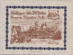 Austria, 20 Heller, FS 808SSIf