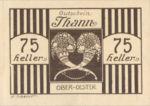 Austria, 75 Heller, FS 1067IIa