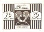 Austria, 75 Heller, FS 1067IIb
