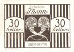 Austria, 30 Heller, FS 1067IIc