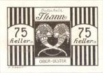 Austria, 75 Heller, FS 1067IIc