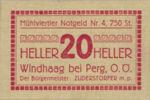 Austria, 20 Heller, FS 1243IVc