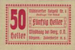 Austria, 50 Heller, FS 1243IVc