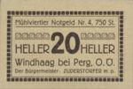 Austria, 20 Heller, FS 1243IVd