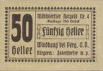 Austria, 50 Heller, FS 1243IVd