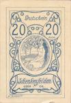 Austria, 20 Heller, FS 958Ia