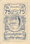 Austria, 75 Heller, FS 958Ia