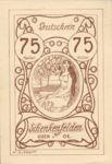 Austria, 75 Heller, FS 958Ib