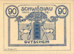 Austria, 90 Heller, FS 985IIID