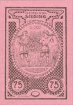 Austria, 75 Heller, FS 994Ib