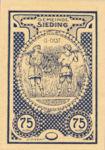 Austria, 75 Heller, FS 994Ic
