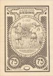 Austria, 75 Heller, FS 994Id