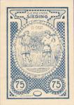 Austria, 75 Heller, FS 994If