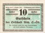Austria, 10 Heller, FS 10a
