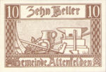 Austria, 10 Heller, FS 27Ia