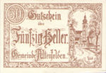 Austria, 50 Heller, FS 27Ib