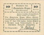 Austria, 10 Heller, FS 14b