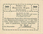 Austria, 50 Heller, FS 14b