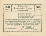 Austria, 50 Heller, FS 14d
