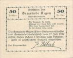 Austria, 50 Heller, FS 14f