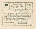 Austria, 10 Heller, FS 14g