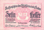 Austria, 10 Heller, FS 74a