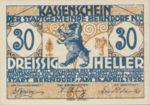 Austria, 30 Heller, FS 83a