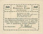 Austria, 50 Heller, FS 14a