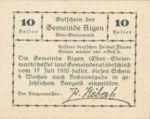 Austria, 10 Heller, FS 14d