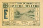 Austria, 10 Heller, FS 190g