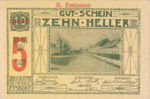 Austria, 5 Heller, FS 190i