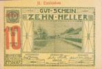Austria, 10 Heller, FS 190i