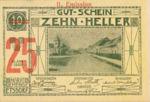 Austria, 25 Heller, FS 190i
