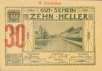 Austria, 30 Heller, FS 190i