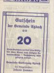 Austria, 20 Heller, FS 62b
