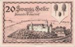 Austria, 20 Heller, FS 96Ia