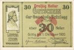 Austria, 30 Heller, FS 104c