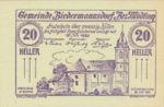 Austria, 20 Heller, FS 87a