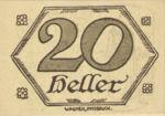 Austria, 20 Heller, FS 99d