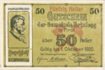Austria, 50 Heller, FS 104c