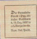 Austria, 75 Heller, FS 107Ic