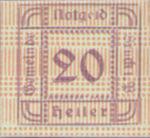 Austria, 20 Heller, FS 107Id