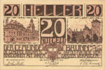 Austria, 20 Heller, FS 109c
