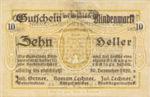 Austria, 10 Heller, FS 93Ia