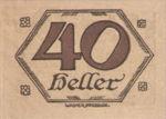 Austria, 40 Heller, FS 99c